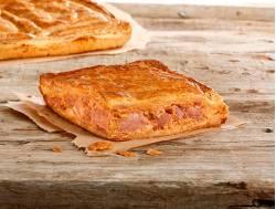 Empanada de hojaldre con bacon