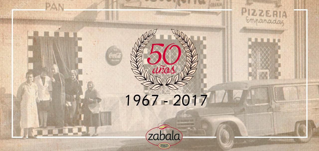 50 aniversario productos zabala