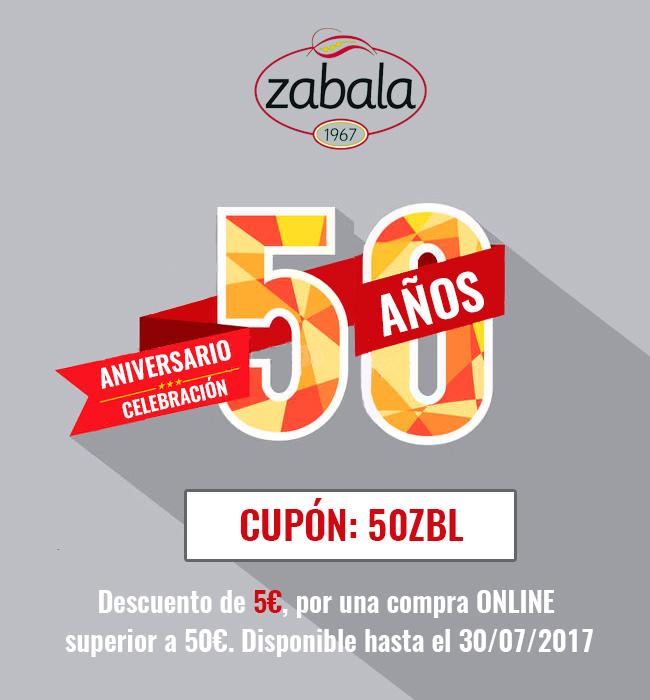 50 aniversario zabala